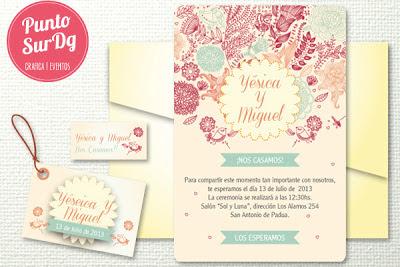 invitacion casamiento boda