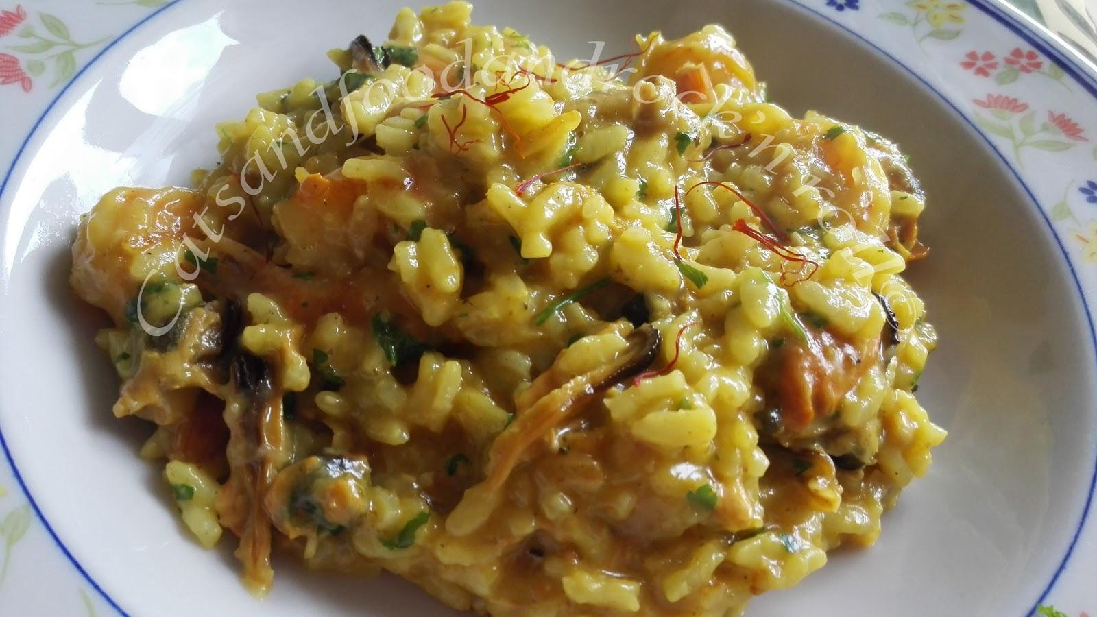 Cucinare con l acticook risotto gamberetti cozze e for Cucinare risotto
