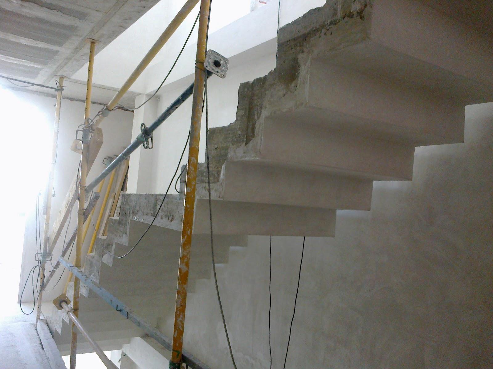 Habitania construcciones y reformas escaleras - Escalera prefabricada de hormigon ...