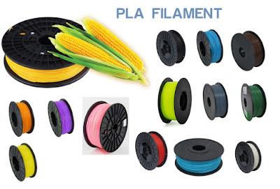 pla filament 3dprinter dari serat jagung
