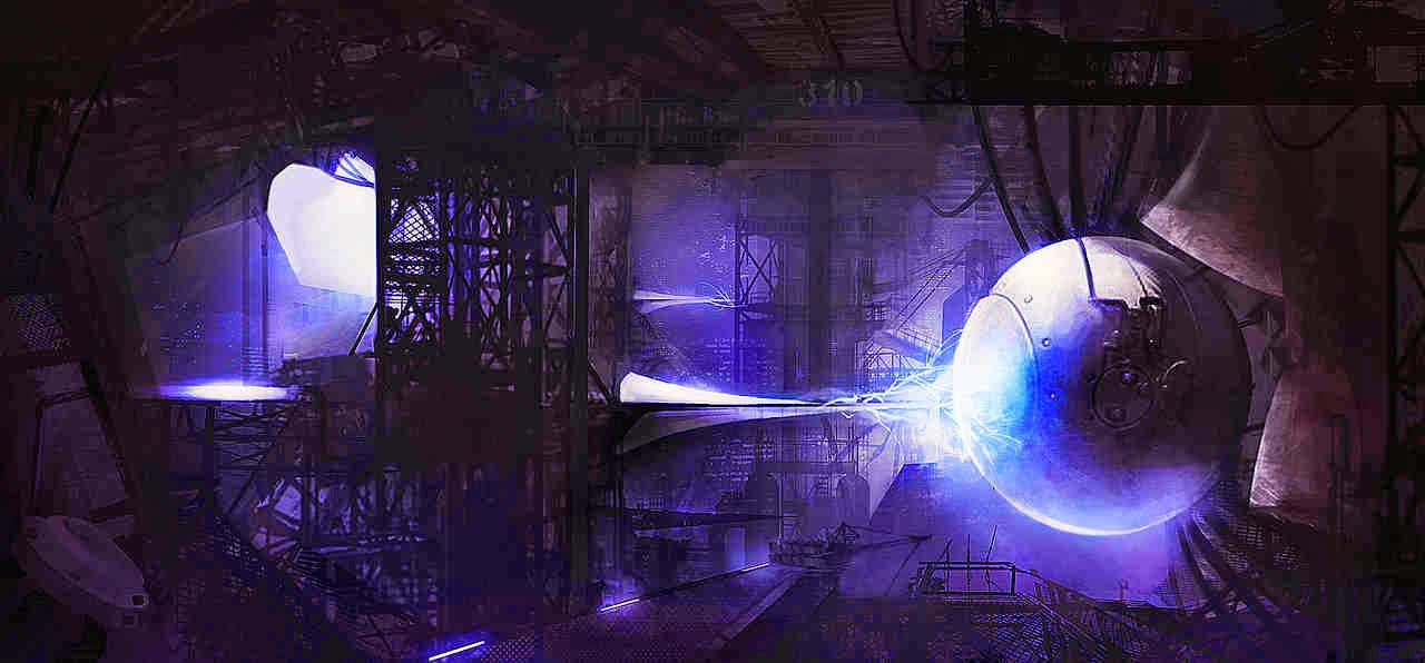 Antimatter power reactor