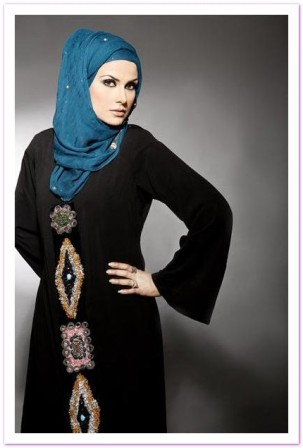 New-abaya-with-belt-Fashion-Trend-2012