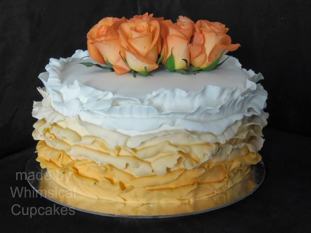 Whimsical Ruffle Cake