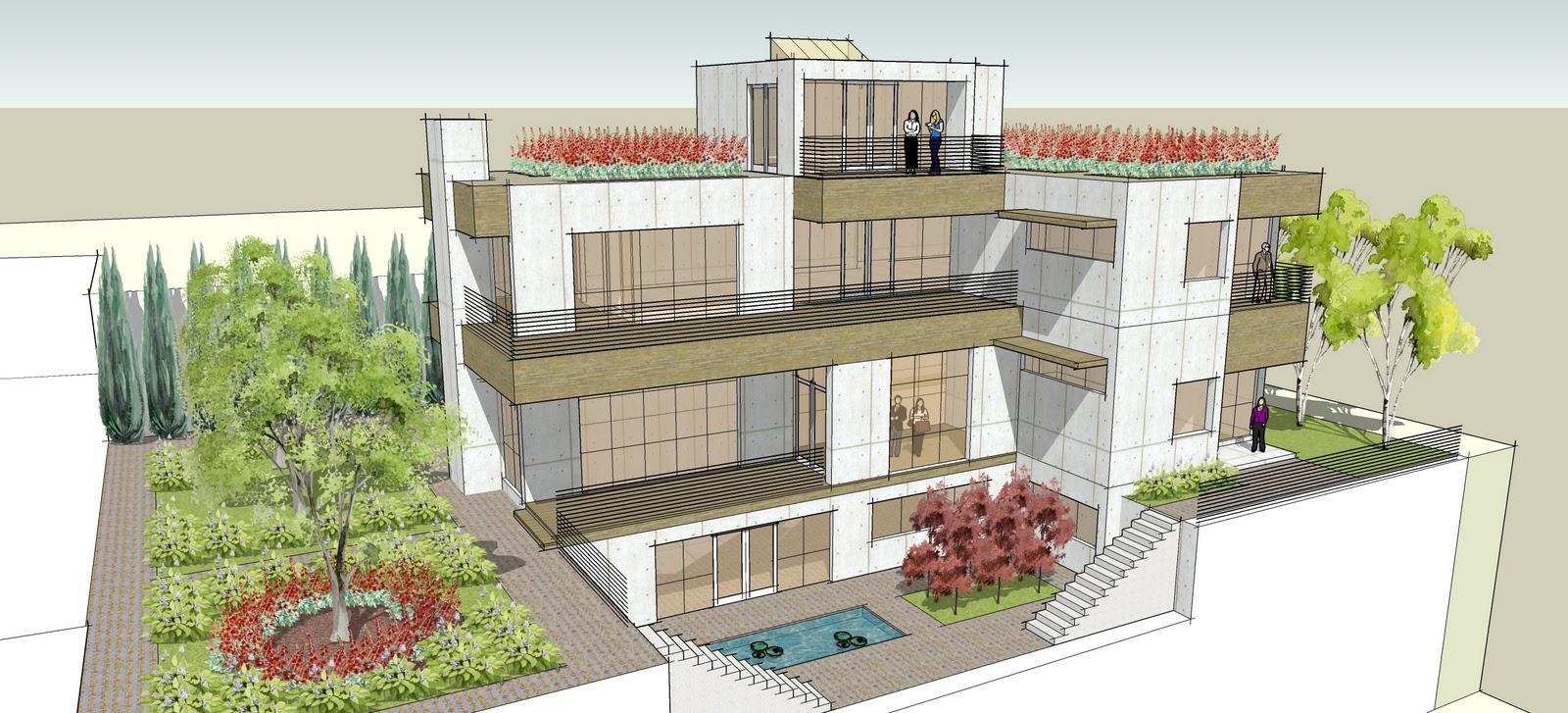 Ron brenner architects new modern korean home design for Home design korea