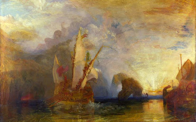 Ulysse se moque de Polyphème de William Turner, 1829