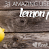 31 Amazing Uses For Lemon Peels