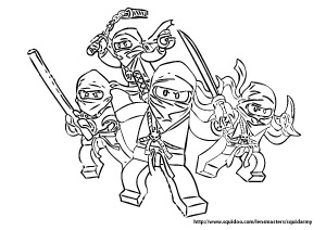 Legos Coloring Pages Gallery
