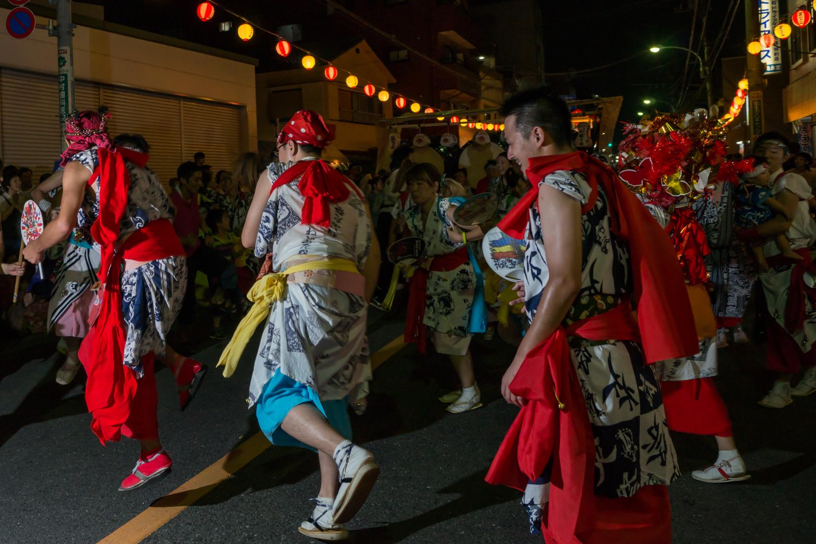 立川、羽衣ねぶた祭 跳人の写真