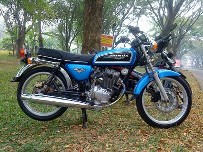 Kumpulan Gambar modifikasi motor honda cb glatik jadul jap style mesin tiger klasik dream lama