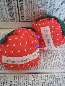 Strawberrry Pin Cushion