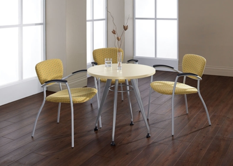 Alba Round Laminate Table by Global