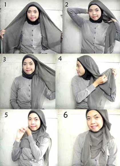 Tips Cantik Memakai kerudung dan Jilbab Muslim terbaru 2013 untuk ...