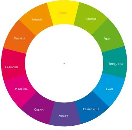 Les produits fards de constance comment choisir sa - Couleurs opposees cercle chromatique ...