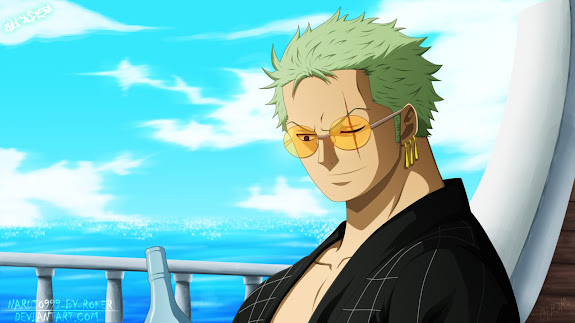 roronoa zoro after to years one piece