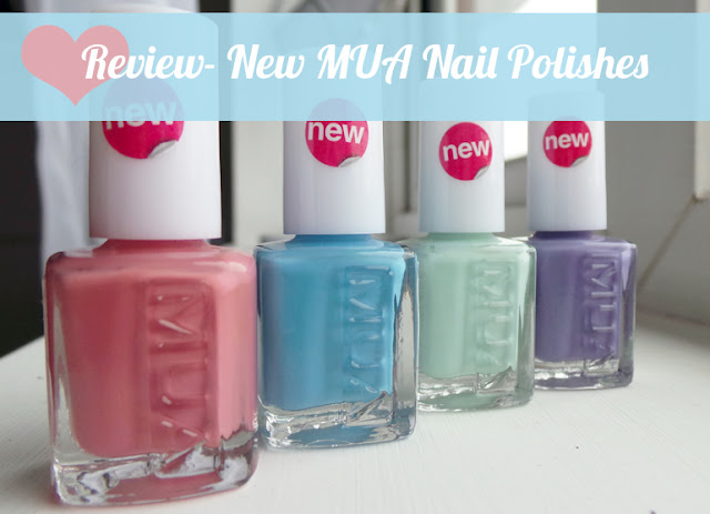 NEW MUA Nail Polishes