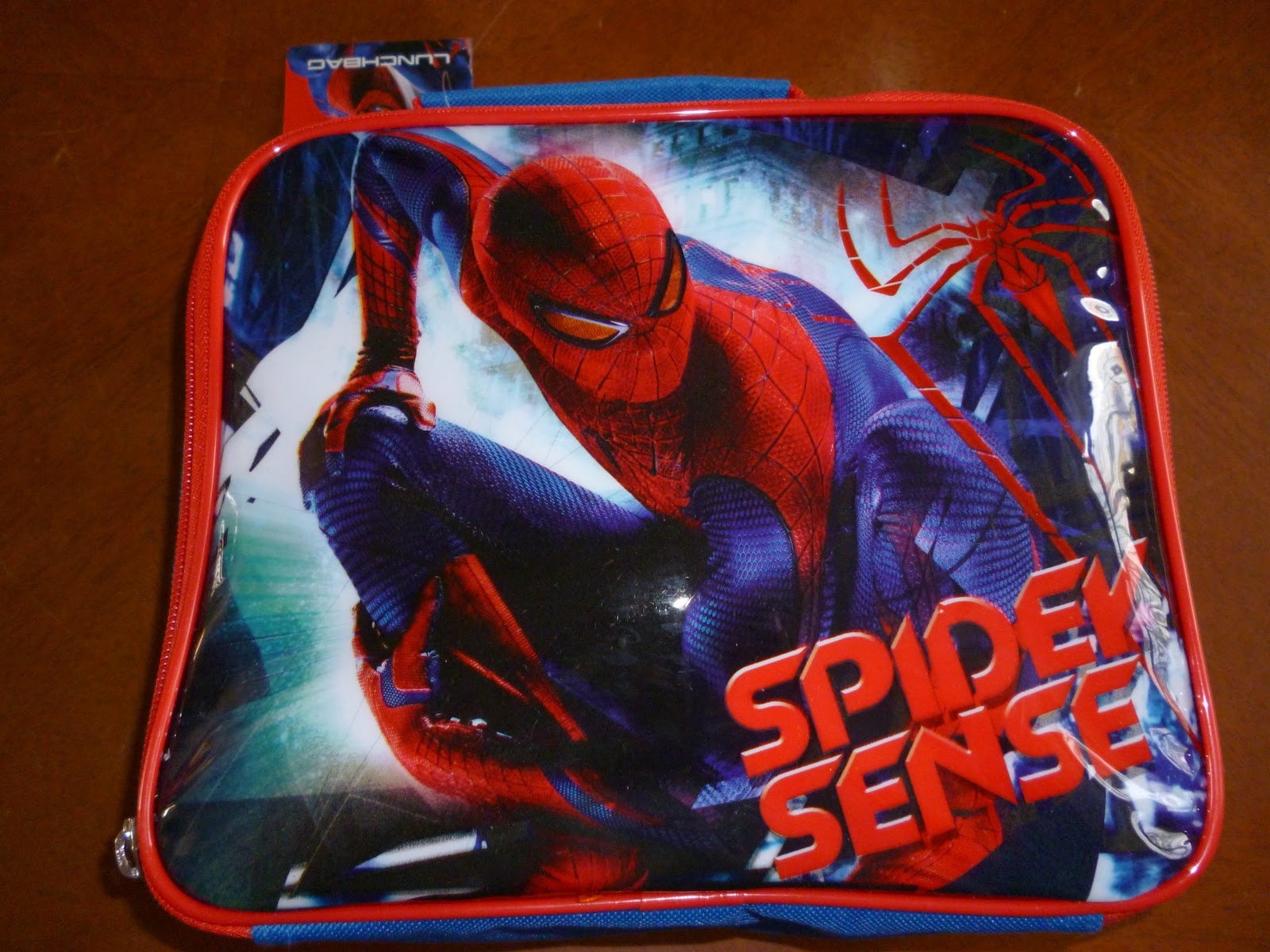 madhouse family reviews asda spiderman lunchbag and. Black Bedroom Furniture Sets. Home Design Ideas