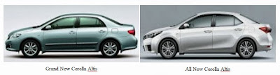 Perbedaan Grand New Corolla Altis dan All New Corolla Altis
