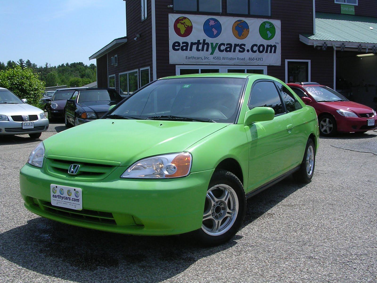 2003 Honda Civic LX, Sedan, Green, 121397 Mi, $5,900 Http://bit.ly/mOAJo3  Compact, 5 Spd Manual, MPG U003d 27/35