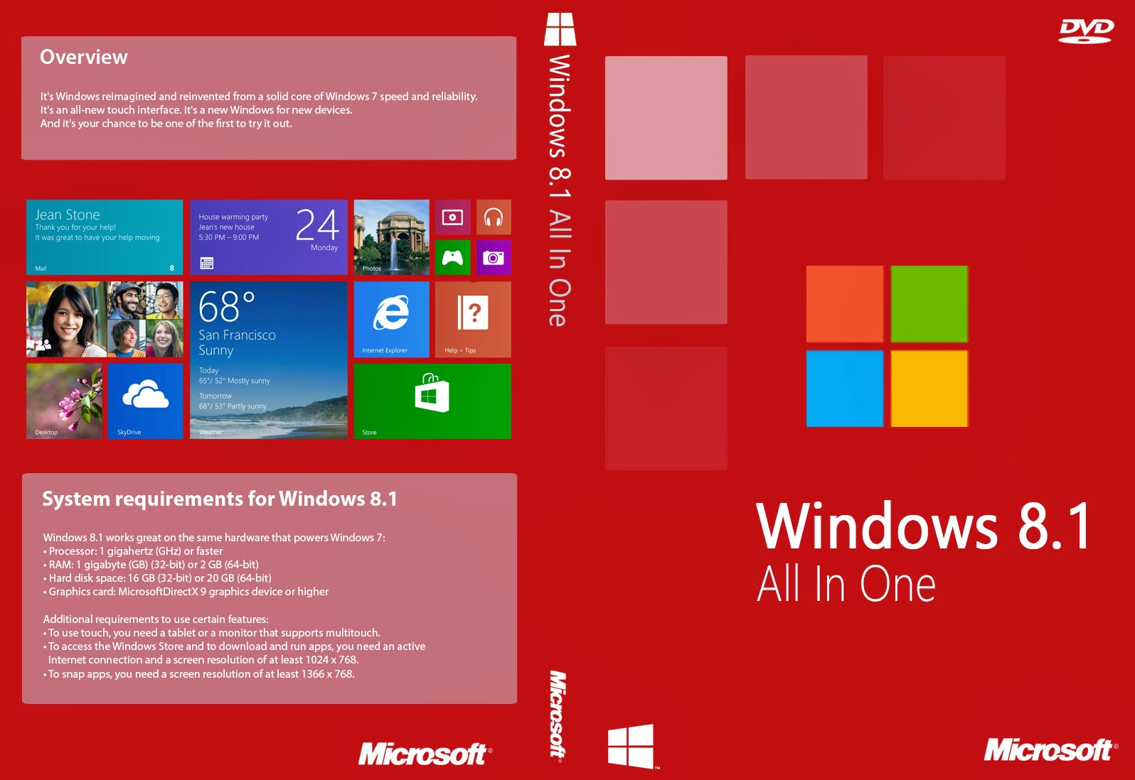 Download Windows 8.1 AIO x64 MULTI 324337