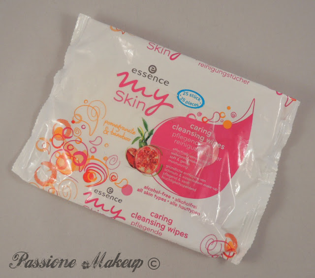 essence my skin caring cleansing wipes