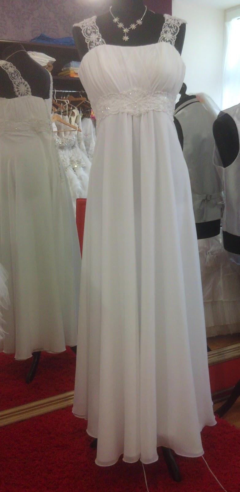Suknie ślubne Vestido Suknia ślubna W Stylu Greckim Empire Rozm