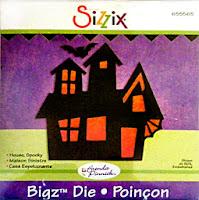 Sizzix Bigz die HOUSE, SPOOKY HAUNTED # 655565