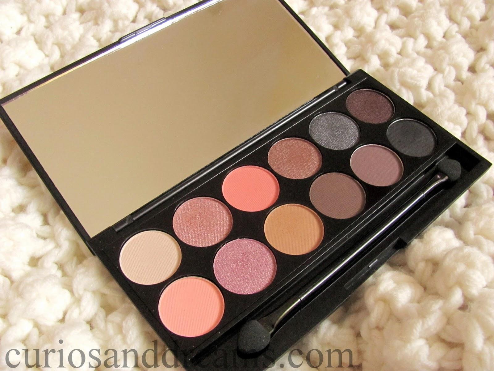 Sleek Oh So Special Eyeshadow Palette review