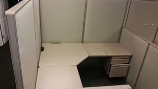 Haworth Unigroup 5'x5' work stations
