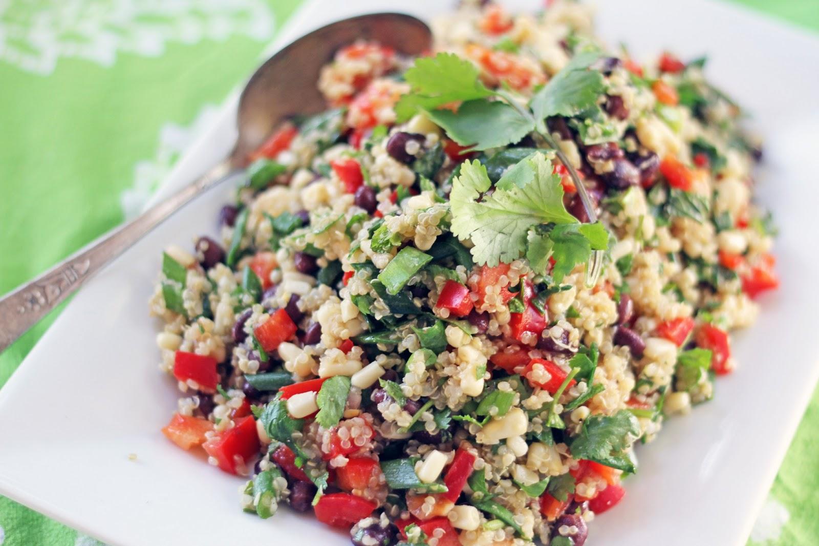 Blue Kale Road: Southwest Quinoa Salad