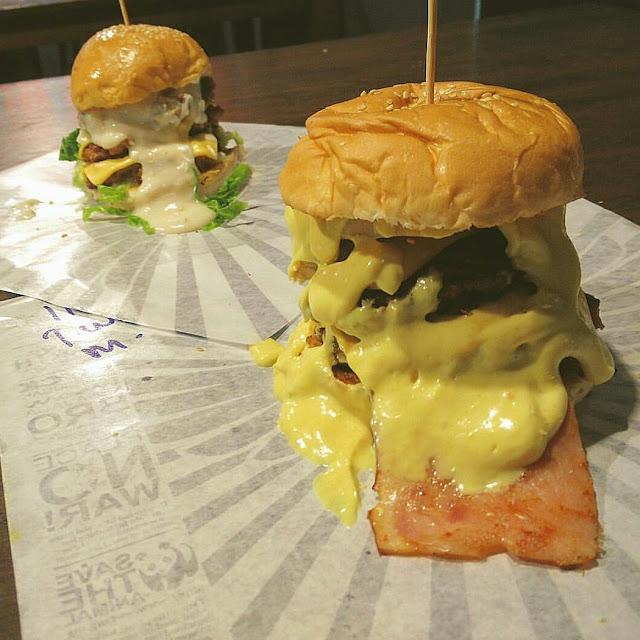 Rockstarz burger, Rockstarz burger Penang, sungai Ara Burger, makan best di Penang,