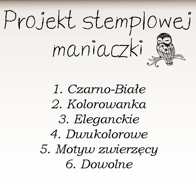 Projekt stemplowej maniaczki - tydzień 2