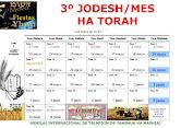 CALENDARIO 3º JODESH/MES 5992/2016