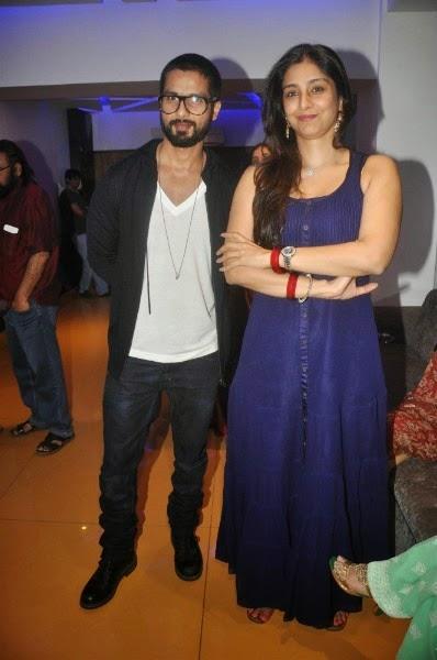 Shahid Kapoor and Tabu at Inam Screening