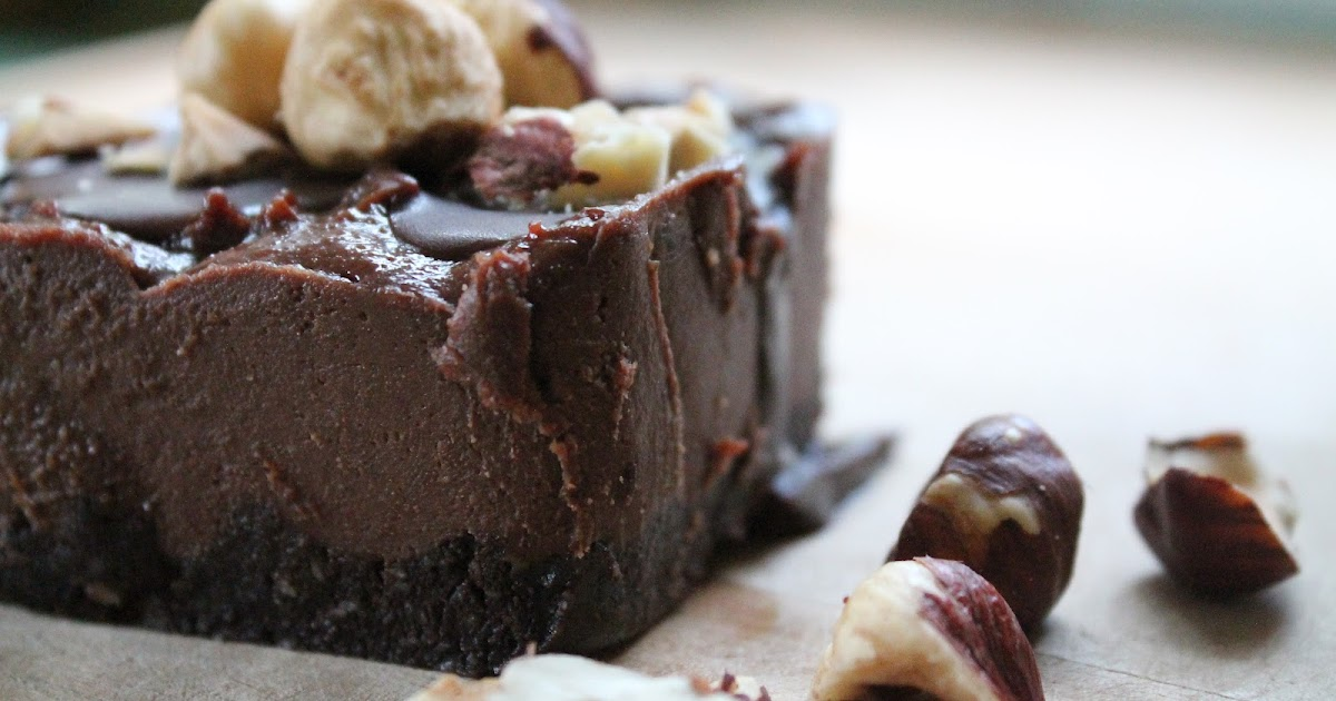 ... .com IN 5 SECONDS....: Raw Chocolate Hazelnut Cheesecake