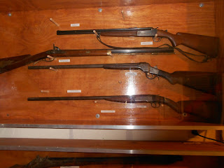 firearms exhibit at charles bent home and museum