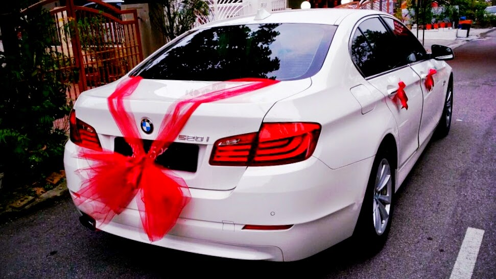 Rent bmw for wedding