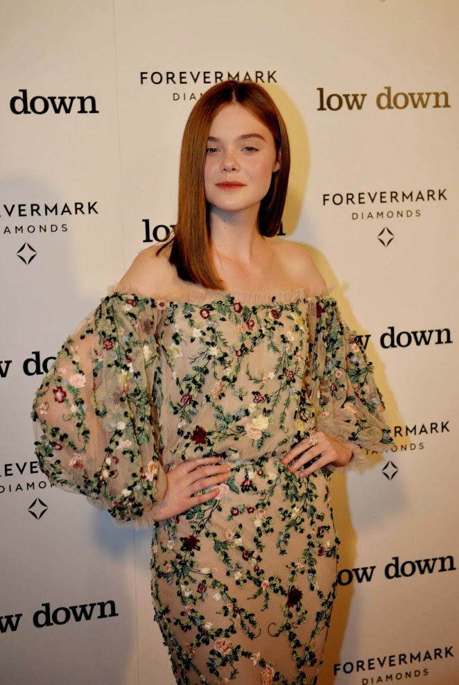 Elle Fanning at Premiere 'Lowdown' in Hollywood
