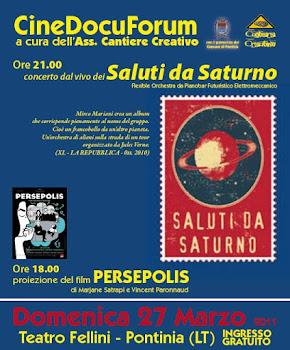 I Saluti da Saturno al CinedocuForum Creativo