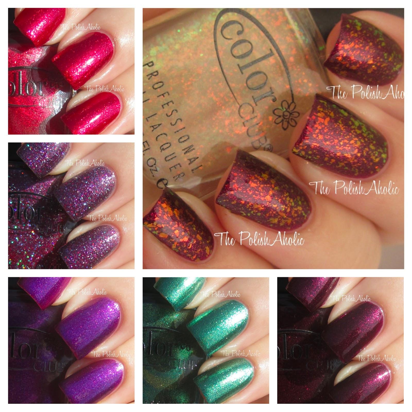 The PolishAholic: Color Club Holiday 2012 Winter Affair Collection ...