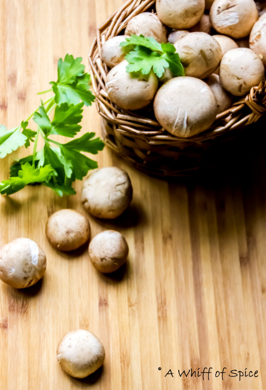 A Whiff of Spice: Breakfast Mushrooms - Mushrooms Sauteed ...