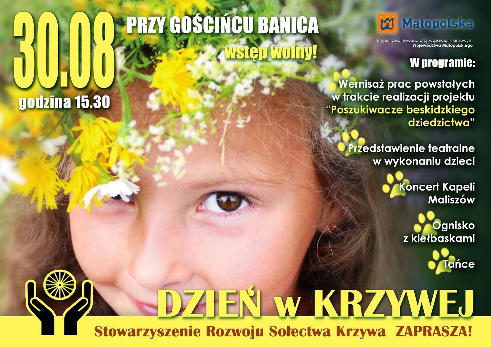 Baśnie na warsztacie, Krzywa, Wołowiec, Kasiadorota.com, Mateusz Świstak, Stowarzyszenie sołectwa Krzywa