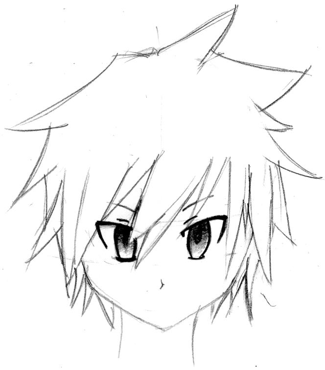 Code Domain Cara Menggambar Muka Anime