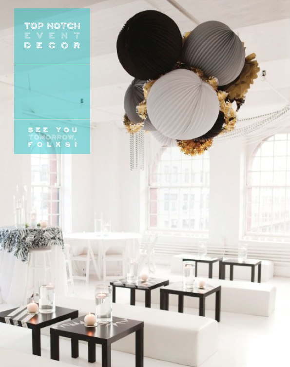 Inspiring Event Decor – Bright.