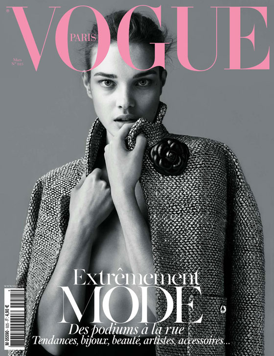 Natalia Vodianova para Vogue Paris