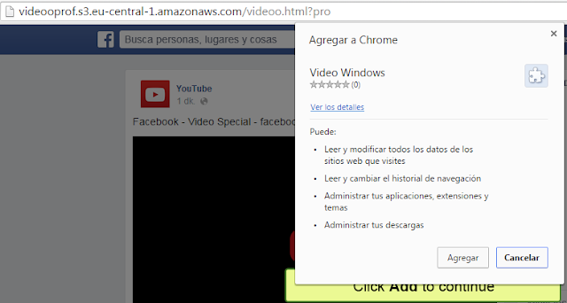 Extension virus Facebook MasFB