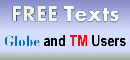 Free, texts, allnet, all, network, TM, cheap, globe