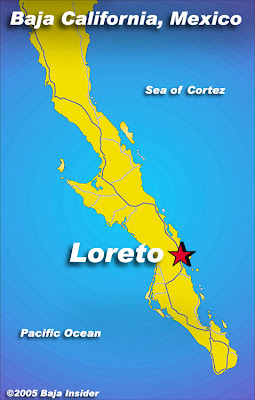 Map of Loreto City Area