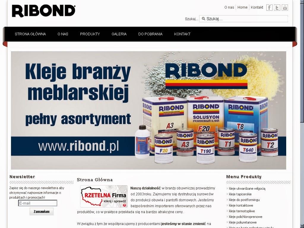 zamówienie program ribond
