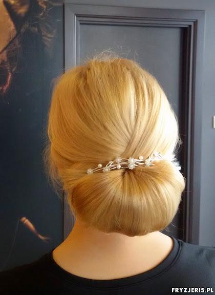 fryzura ślubna 0