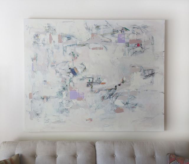 Abstract painting by Karri Allrich